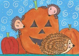 Hedgehogs and Pumpkins